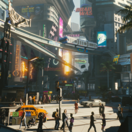 CD Projekt Red Cyberpunk 2077 SQ